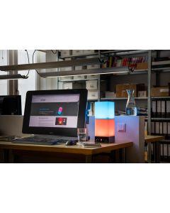 onia table Farblichttherpaie Lampe für Zuhause Detailansicht