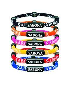 Sabona of London sportliches Magnetschmuck Armband Athletic für Frauen, Männer und Kinder in bunten Farben Detailansicht