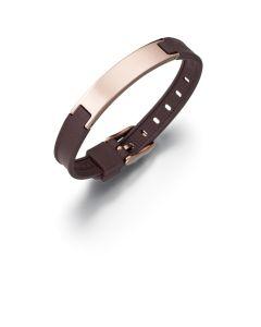 SQBRA Silikonarmband Pure Gold mit Magnete als stylisches, sportliches und elegantes Accessoire für jeden Tag.
