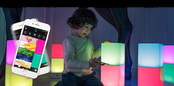 LED Farbwechsellampe