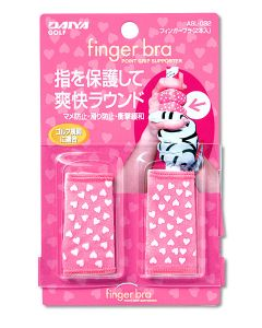 Dayia Finger Bra in pink und weiß stabilisiert wie ein Tape Detailansicht