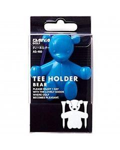 Daiya Tee Holer Bär blau für 2 Tees als Golf Geschenk Detailansicht